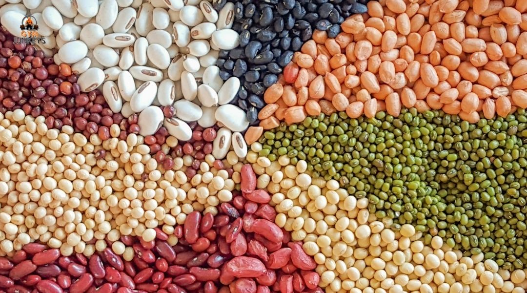 a variety of beans