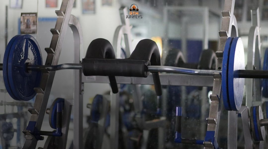 What is a safety squat bar?